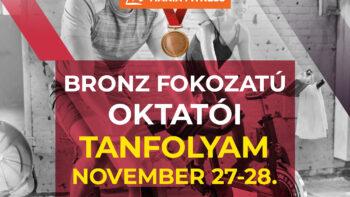 SCHWINN CYCLING,  Bronz Fokozatú Oktatói Tanfolyam