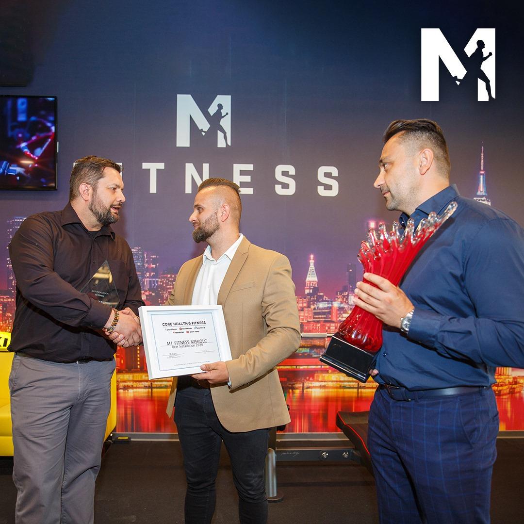 Európa legjobb fitnessterme lett az M1 Fitness Miskolc - 2