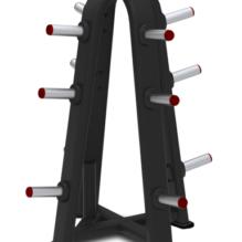 "4-SIDED OLYMPIC WEIGHT TREE – 4 oldalú olimpiai súlytartó ""fa"" - Nautilus Freedom Rack"