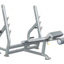 Impulse IT7016 Decline bench – Negatív fekvenyomó pad - Impulse Strength - IT7