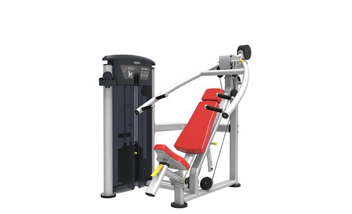 Chest/Incline Chest/Shoulder press – Mellnyomó, Ferde mellnyomó, vállnyomó gép - Impulse Strength - IT95