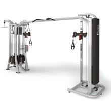 4 station Multi Gym+Adjustable Cable Station with Bar – Állítható 5 állású torony - Panatta Fitevo