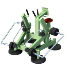 Back Row with Variable Load - Street Barbell Light