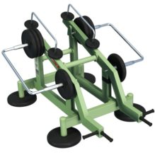 Deadlift with Variable Load - Street Barbell Light