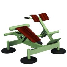 Decline Bench and Hyperextension with Bodyweight - Street Barbell Light