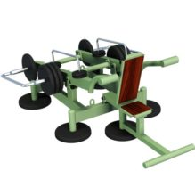 Seated Tricep Dips with Variable Load - Street Barbell Light
