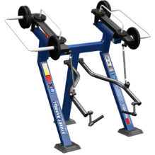 BICEPS CURL IN STANDING POSITION  WITH VARIABLE LOAD - Street Barbell Line