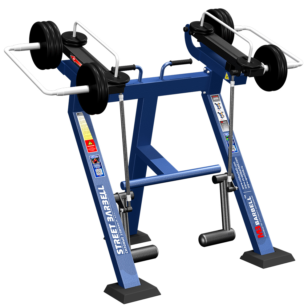 LEGS CURL IN STANDING POSITION WITH VARIABLE LOAD - Street Barbell Line
