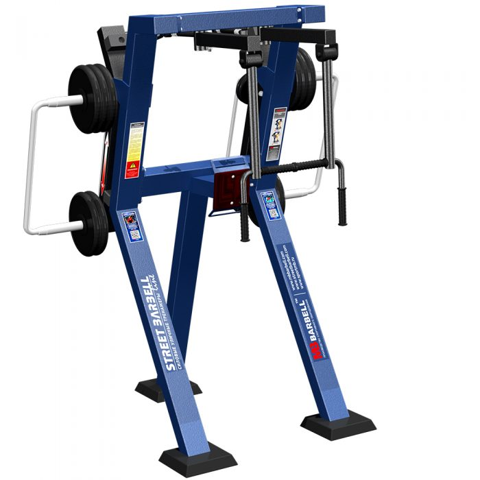 BUTTERFLY REVERS IN STANDING  POSITION WITH VARIABLE LOAD - Street Barbell Line
